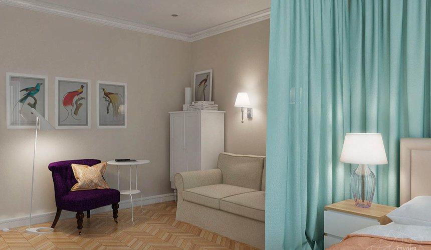 Дизайн интерьера однокомнатной квартиры по ул. Мичурина 231 11