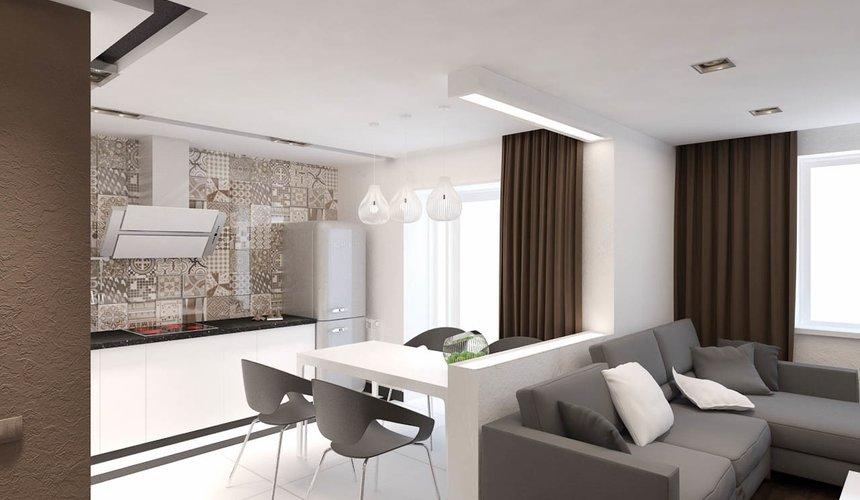 Дизайн интерьера однокомнатной квартиры по ул. Гагарина 27 6