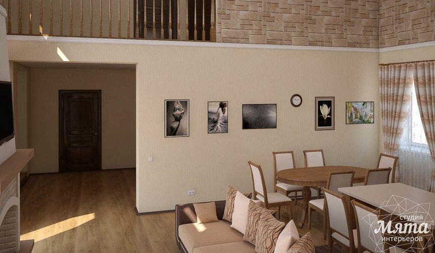 Дизайн интерьера коттеджа в современном стиле в п. Образцово  5