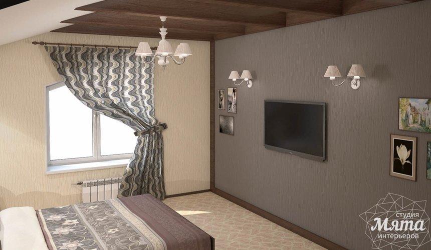 Дизайн интерьера коттеджа в современном стиле в п. Образцово  17
