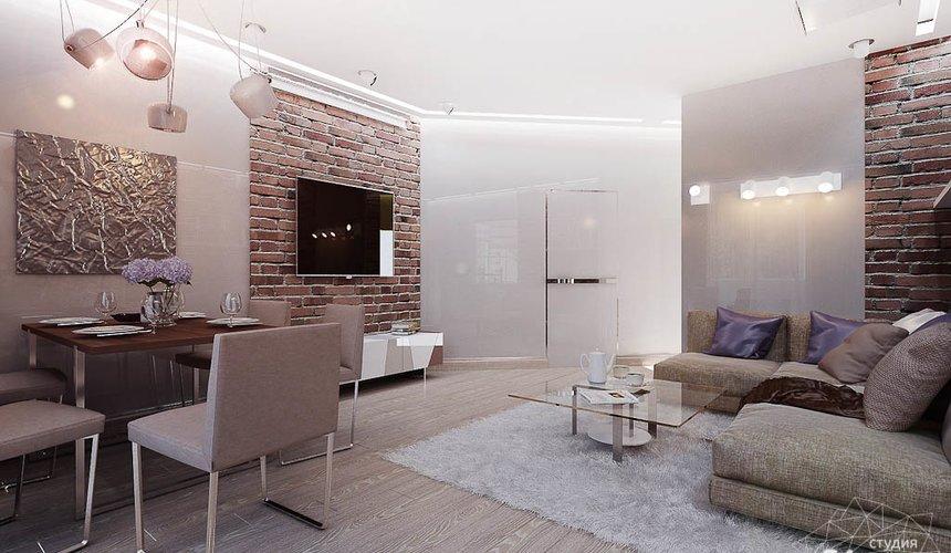 Дизайн интерьера двухкомнатной квартиры по ул. Малышева 38 6
