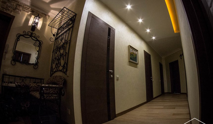 Дизайн интерьера и ремонт трехкомнатной квартиры по ул. Авиационная, 16  4