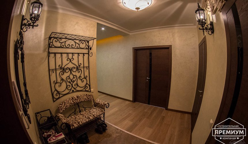 Дизайн интерьера и ремонт трехкомнатной квартиры по ул. Авиационная, 16  7