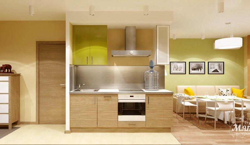 Дизайн интерьера двухкомнатной квартиры по ул. Машинная 40 14