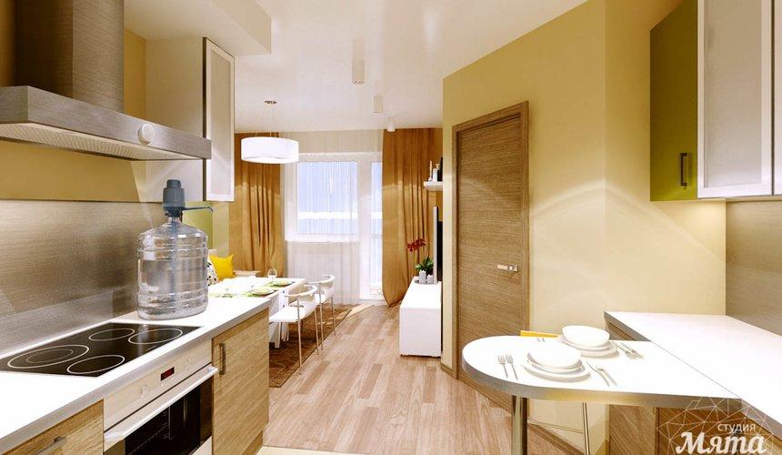 Дизайн интерьера двухкомнатной квартиры по ул. Машинная 40 15