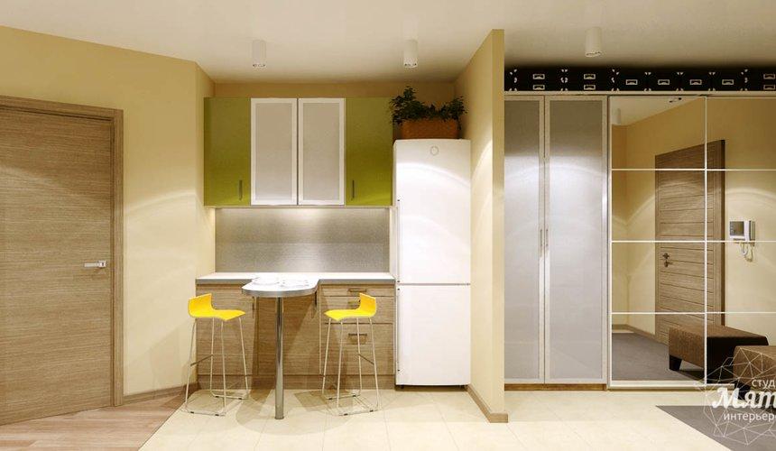 Дизайн интерьера двухкомнатной квартиры по ул. Машинная 40 16