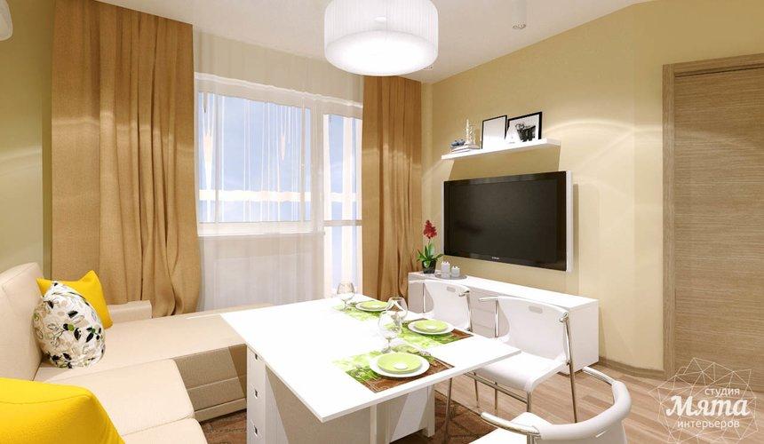 Дизайн интерьера двухкомнатной квартиры по ул. Машинная 40 18