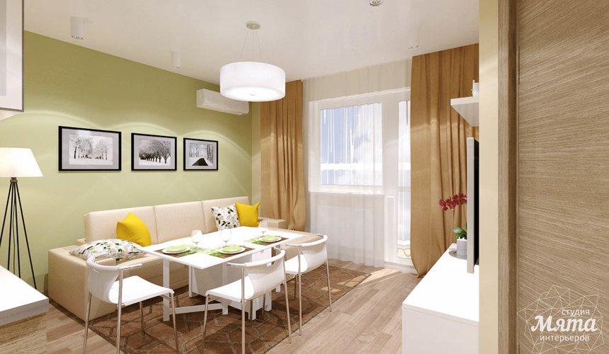 Дизайн интерьера двухкомнатной квартиры по ул. Машинная 40 21
