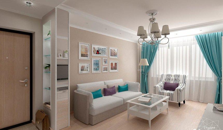 Дизайн интерьера двухкомнатной квартиры по ул. Шаумяна 93 8