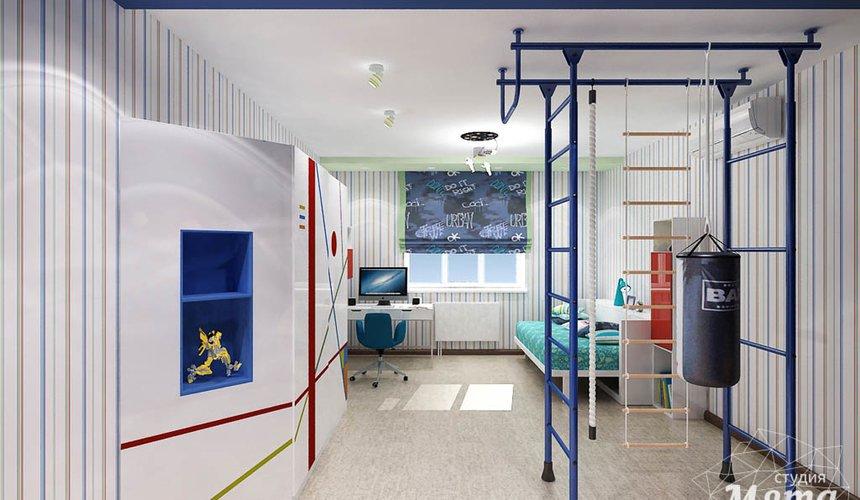 Дизайн интерьера и ремонт трехкомнатной квартиры по ул. Авиационная, 16  85