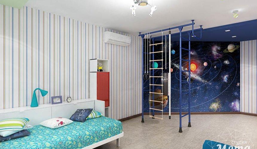 Дизайн интерьера и ремонт трехкомнатной квартиры по ул. Авиационная, 16  86