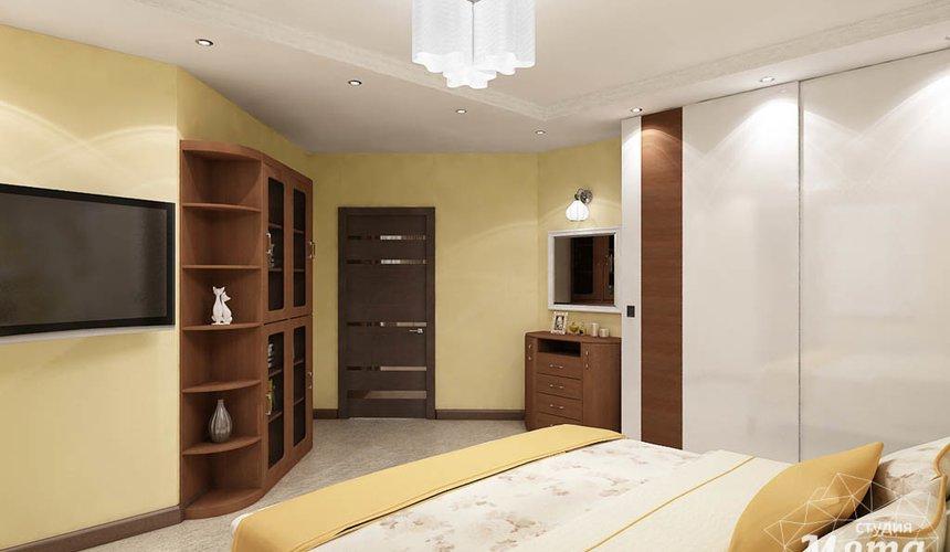 Дизайн интерьера и ремонт трехкомнатной квартиры по ул. Авиационная, 16  90