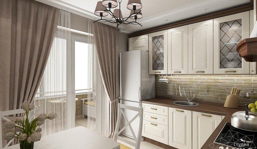 Дизайн интерьера двухкомнатной квартиры по ул. Шаумяна 93 16