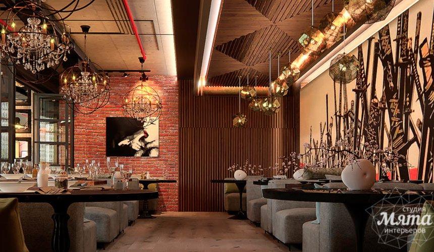 Дизайн интерьера кафе в Сочи  12