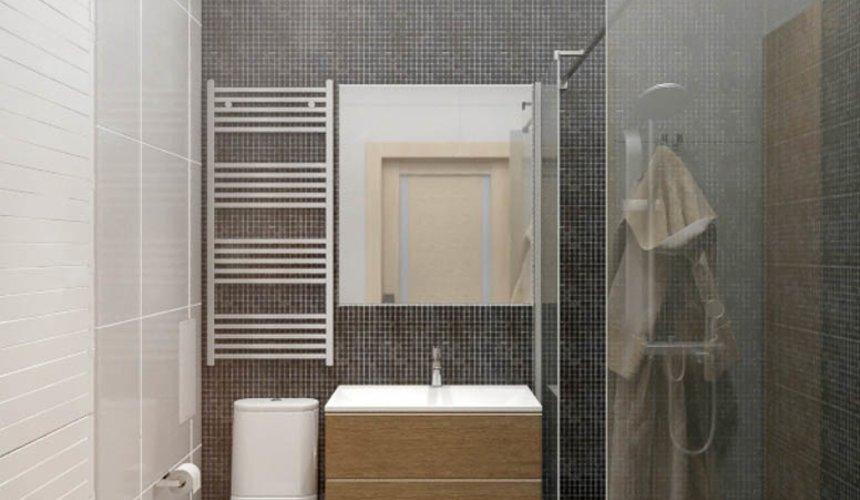 Дизайн интерьера однокомнатной квартиры в ЖК Крылов 18