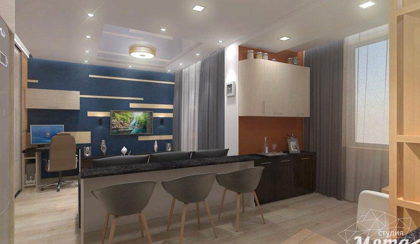Дизайн интерьера однокомнатной квартиры в ЖК Крылов 4