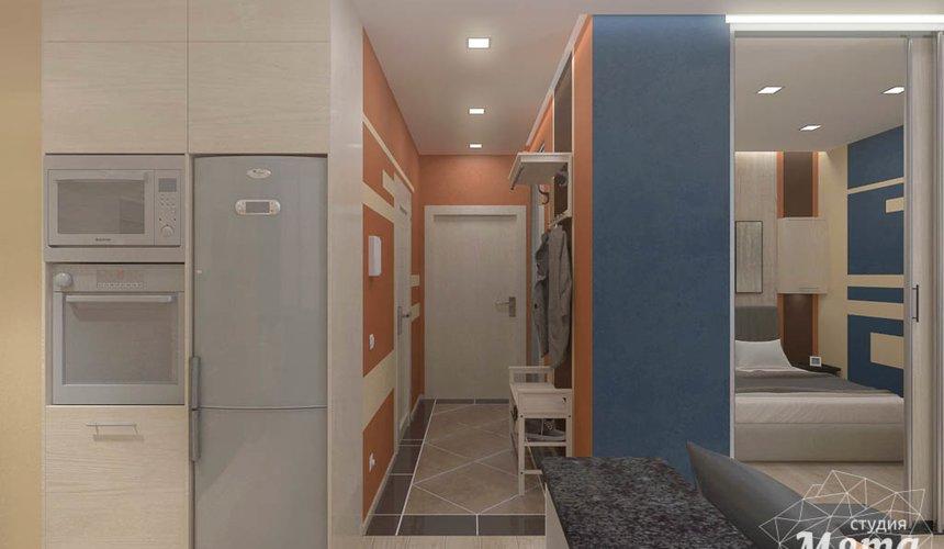 Дизайн интерьера однокомнатной квартиры в ЖК Крылов 11