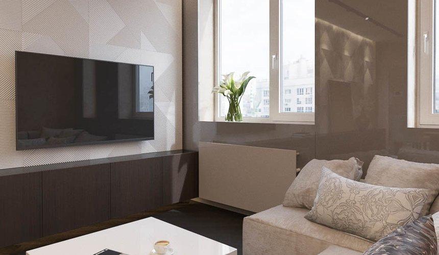 Дизайн интерьера однокомнатной квартиры в ЖК Крылов (2 очередь) 3