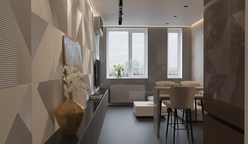 Дизайн интерьера однокомнатной квартиры в ЖК Крылов (2 очередь) 5
