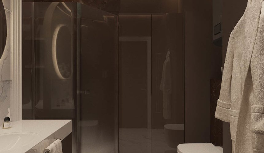 Дизайн интерьера однокомнатной квартиры в ЖК Крылов (2 очередь) 14