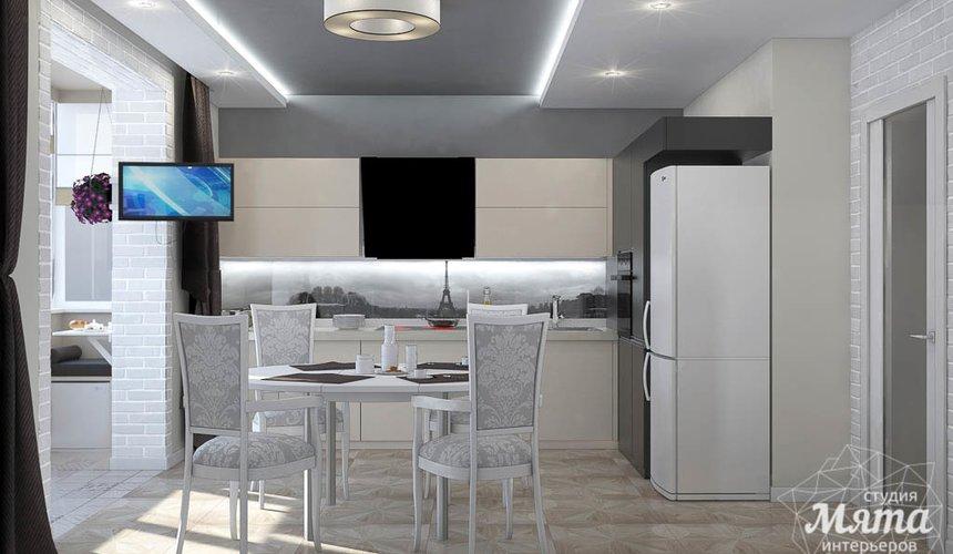 Дизайн интерьера трехкомнатной квартиры по ул. 8 Марта 194 10