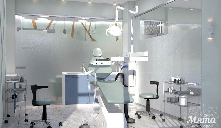 Дизайн интерьера и ремонт стоматологической клиники в ЖК Лига Чемпионов 43