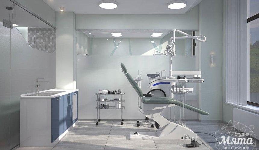 Дизайн интерьера и ремонт стоматологической клиники в ЖК Лига Чемпионов 42
