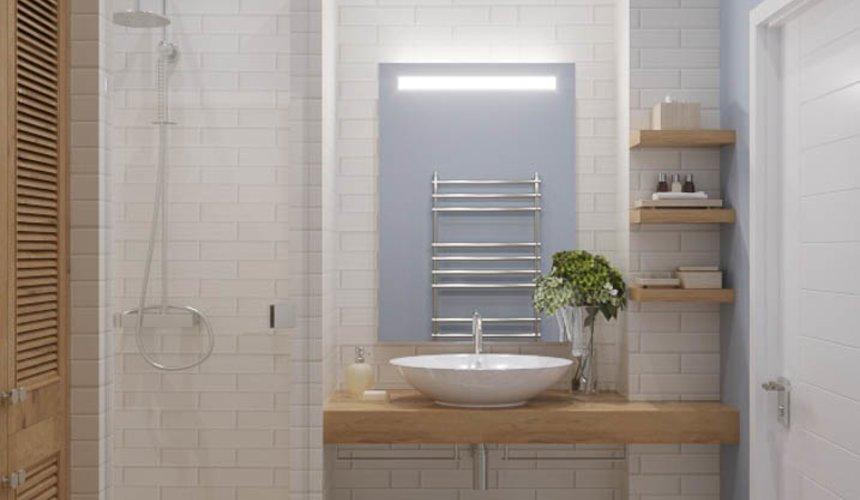Дизайн интерьера ванной комнаты и санузла по ул. Орденоносцев 6 3