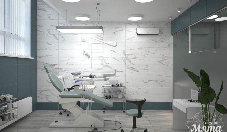 Дизайн интерьера и ремонт стоматологической клиники в ЖК Лига Чемпионов 35