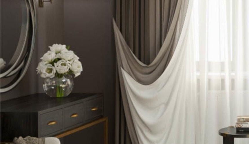 Дизайн интерьера спальни в ЖК Малевич 6
