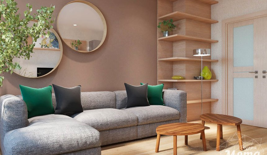 Дизайн интерьера трехкомнатной квартиры по ул. Куйбышева 102 4
