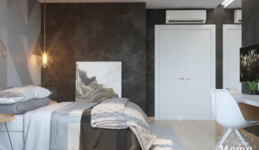 Дизайн интерьера однокомнатной квартиры в ЖК Чемпион Парк 14