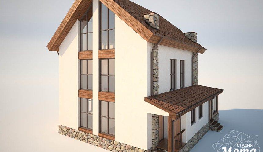 Дизайн фасада коттеджа в Хрустальном 4