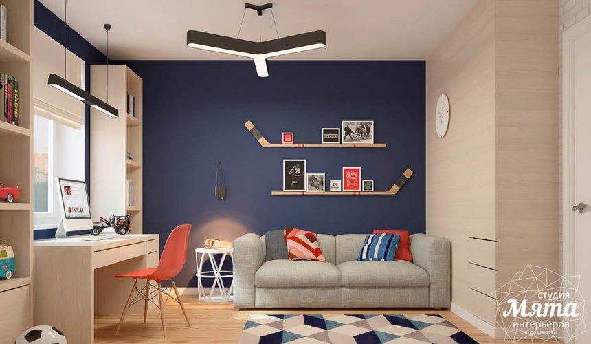 Дизайн интерьера детской комнаты в ЖК Антарес 4
