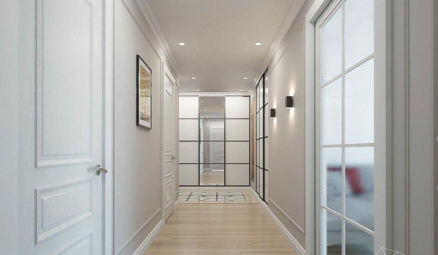 Дизайн интерьера трехкомнатной квартиры в ЖК Малевич 14