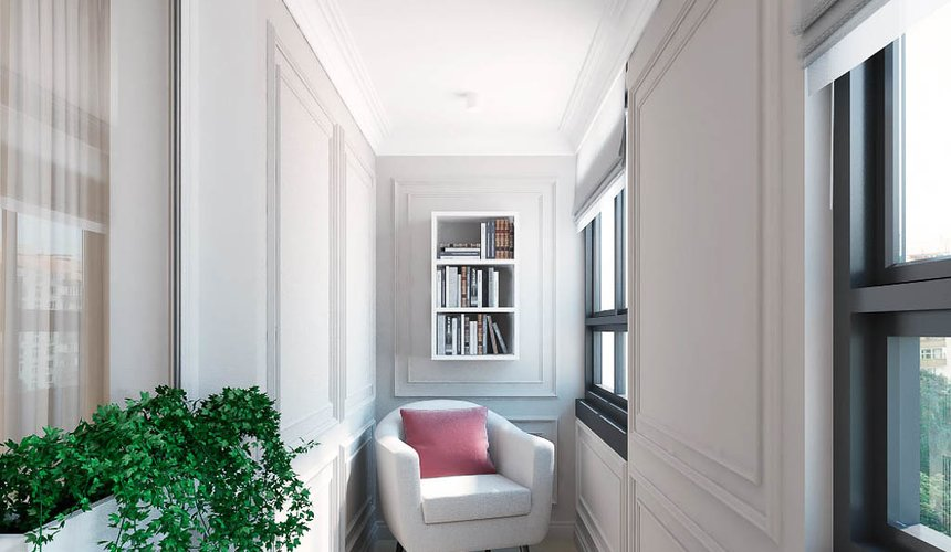 Дизайн интерьера трехкомнатной квартиры в ЖК Малевич 20