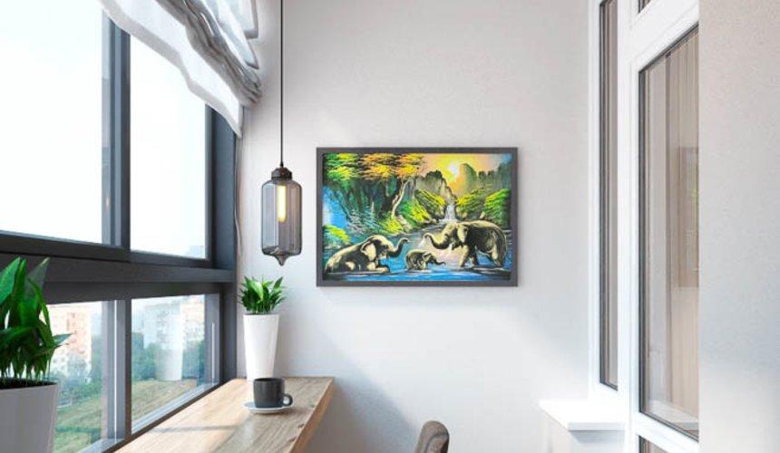 Дизайн интерьера трехкомнатной квартиры в ЖК Малевич 25