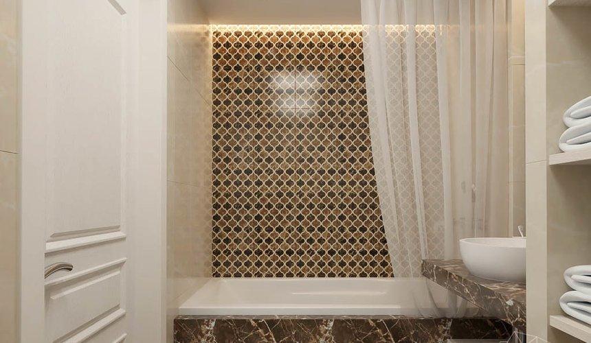 Дизайн интерьера трехкомнатной квартиры в ЖК Малевич 24