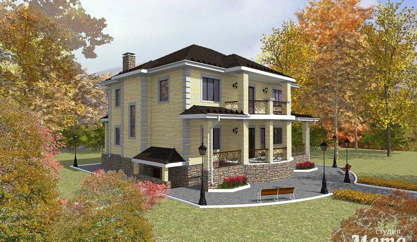 Дизайн фасада коттеджа 314м2 в Сысерти 1