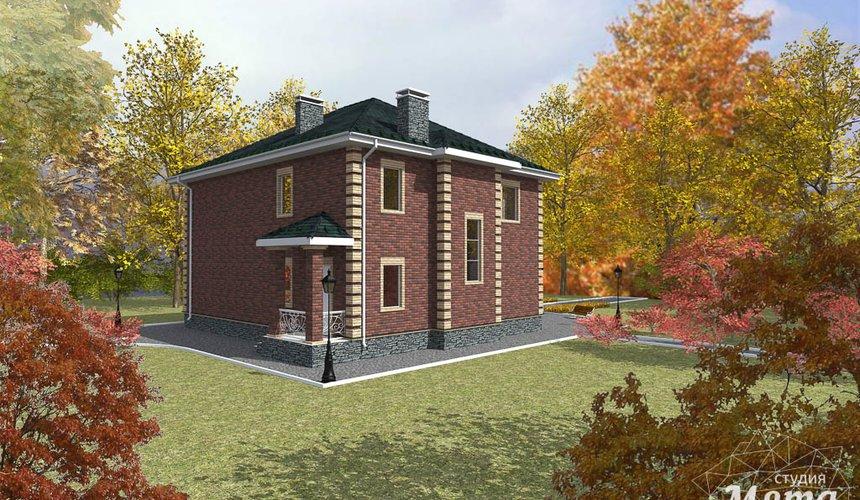Дизайн проект фасада двухэтажного дома 210 м2 в Сочи 3
