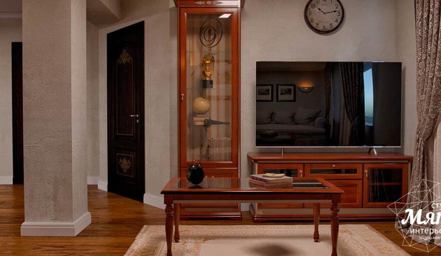 Дизайн интерьера коттеджа в п. Брусника 7