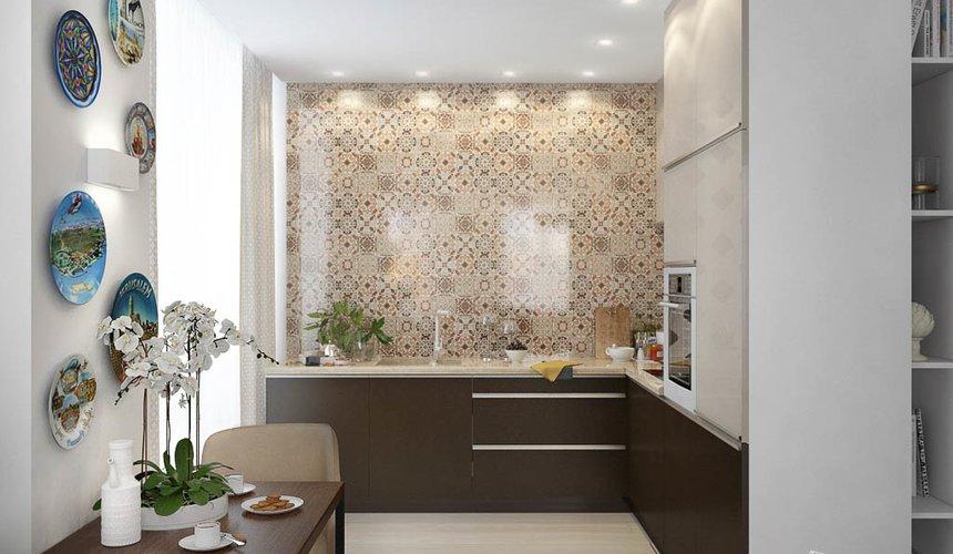 Дизайн интерьера двухкомнатной квартиры в ЖК Чемпион Парк 7