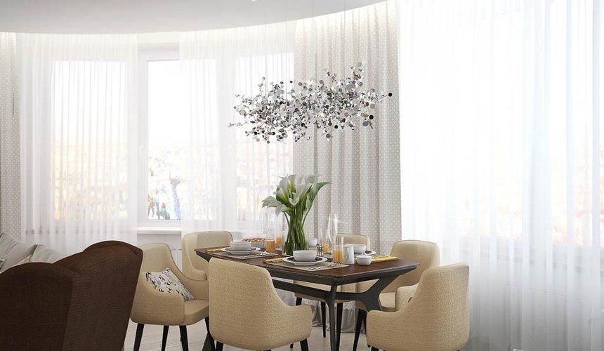 Дизайн интерьера двухкомнатной квартиры в ЖК Чемпион Парк 2