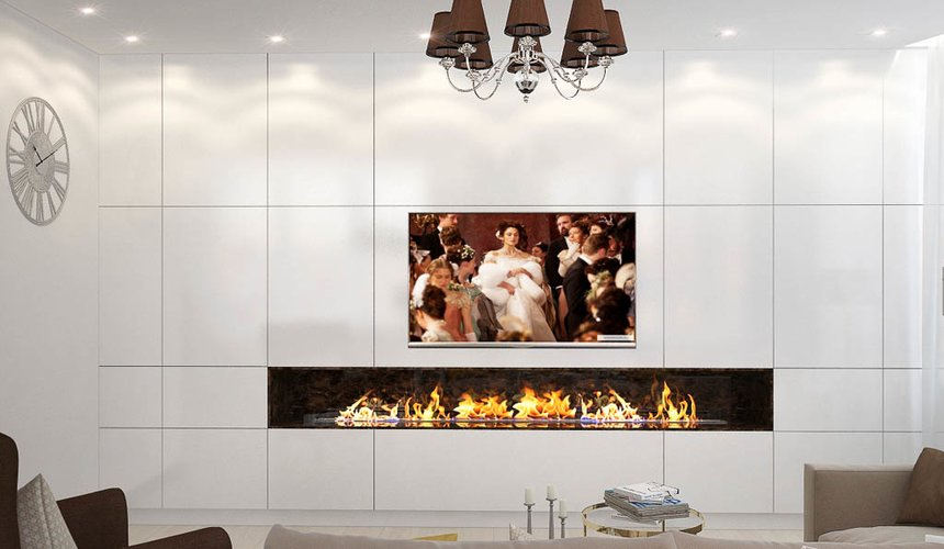 Дизайн интерьера двухкомнатной квартиры в ЖК Чемпион Парк 4