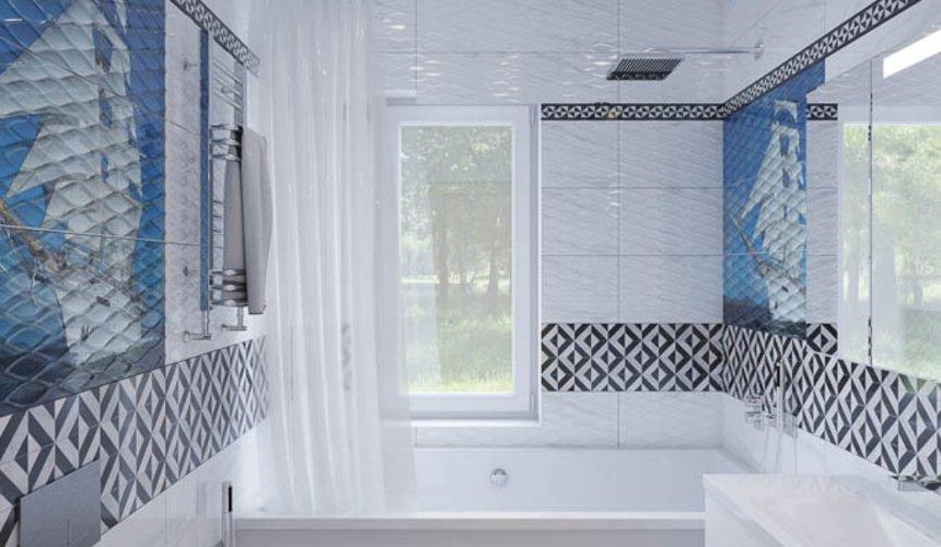 Дизайн интерьера ванных комнат для коттеджа в г. Салехард 11