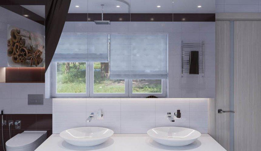 Дизайн интерьера ванных комнат для коттеджа в г. Салехард 6