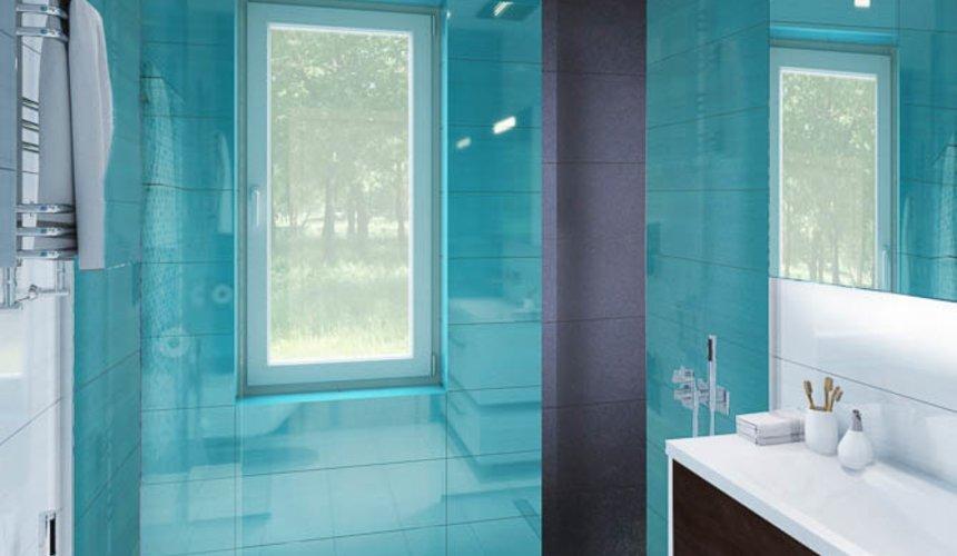 Дизайн интерьера ванных комнат для коттеджа в г. Салехард 10