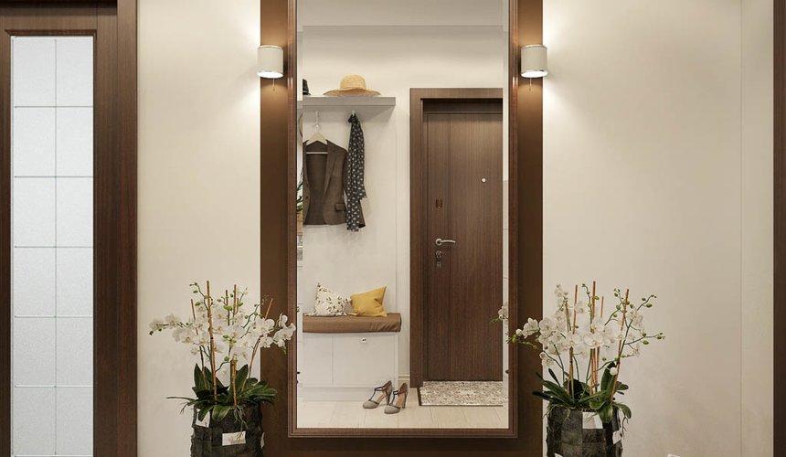 Дизайн интерьера двухкомнатной квартиры в ЖК Чемпион Парк 9