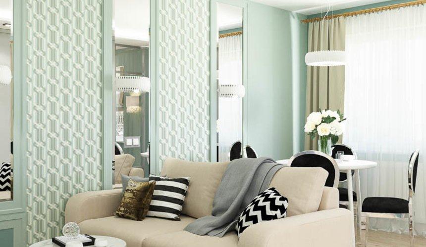 Дизайн интерьера однокомнатной квартиры пер. Встречный д. 5 5