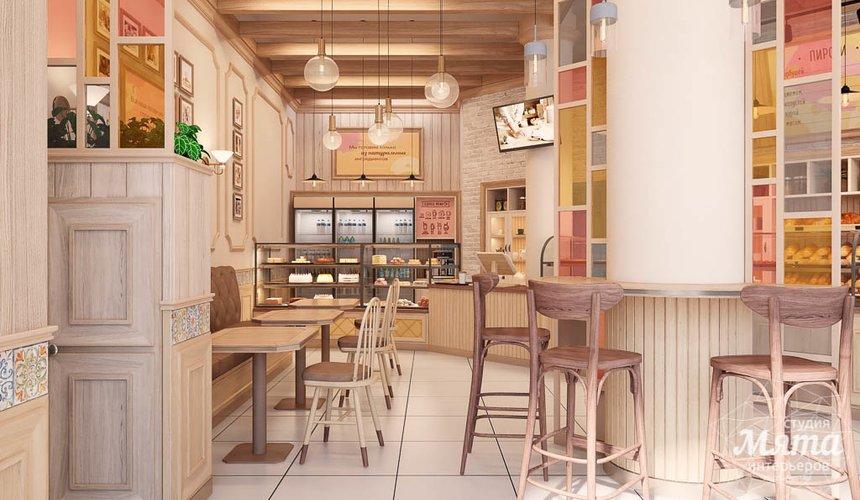Дизайн интерьера пекарни Сдобная Сказка 3